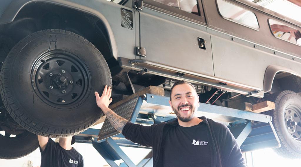 Patricio Guerra Garage du Col Arzier Le Muids
